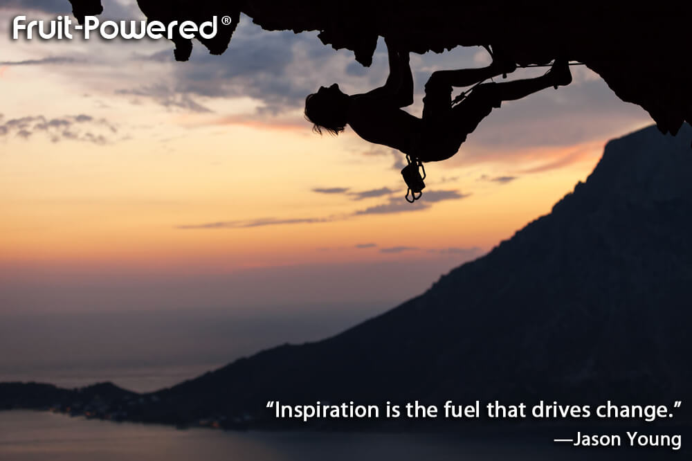 Inspiration is the fuel that drives change.