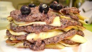 Recipe for Banana Tower Raw Pie from Anna Chmielewska