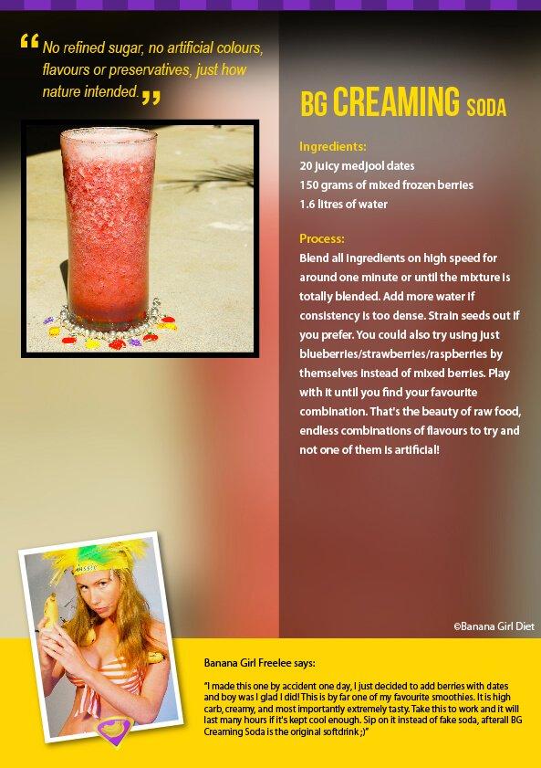 Creaming Soda recipe
