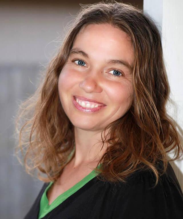 Closeup of Victoria Everett