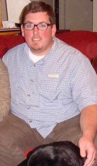 Jason Young before a fruit-based diet