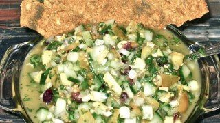 Recipe for Sweet and Spicy Salsa from Tarah Millen