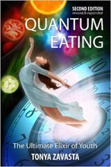 Cover of Quantum Eating by Tonya Zavasta