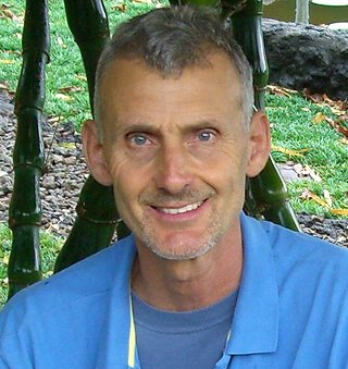 Closeup of Don Weaver outdoors
