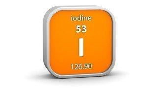 Iodine in the periodic table
