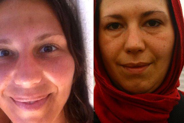 Melanie Lotos raw food comparison photos