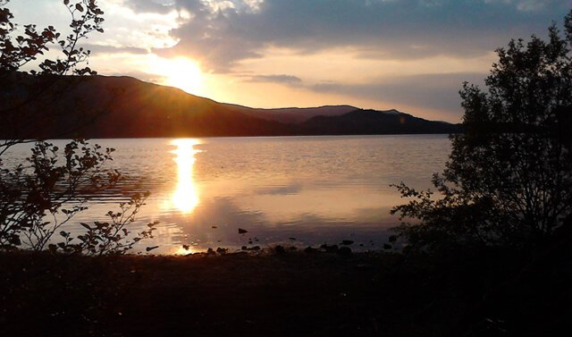 Esperanza Vite's photograph of a lake