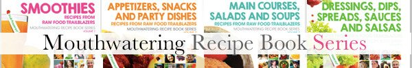 Wide banner for the Mouthwatering Recipe Book Series
