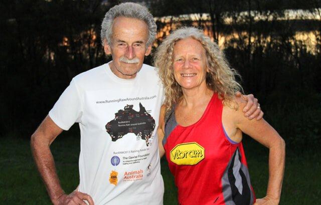 Janette Murray-Wakelin and Alan Murray pose outside