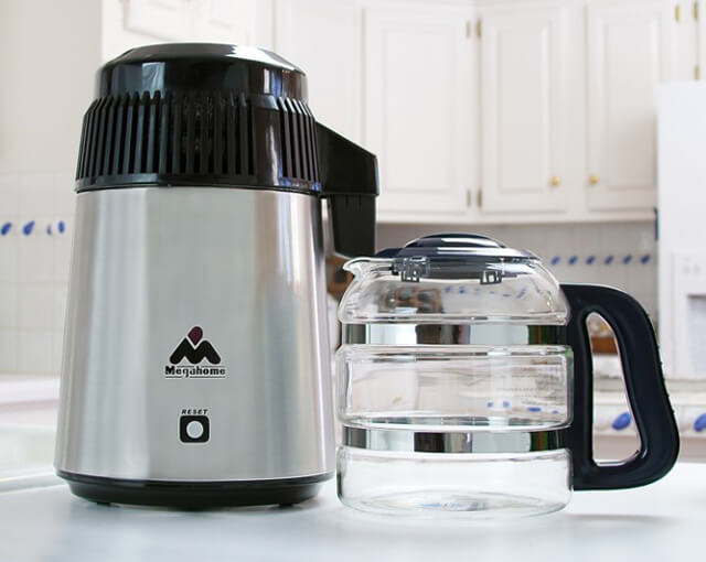 Make A Water Distiller ~ From distilled water use comes idea to cut consumption