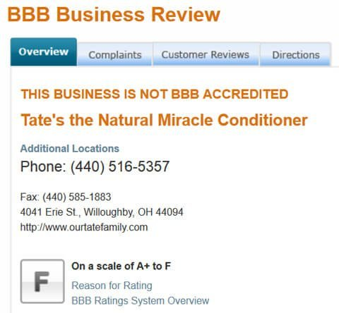Tates-Better-Business-Bureau-review