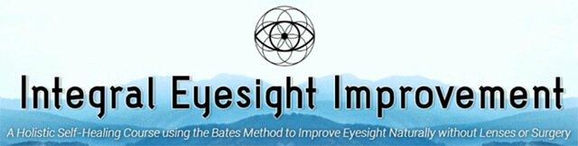 Website banner for Integral Eyesight Improvement