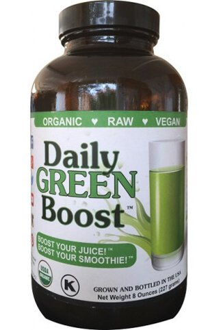 Bottle of Daily Green Boost