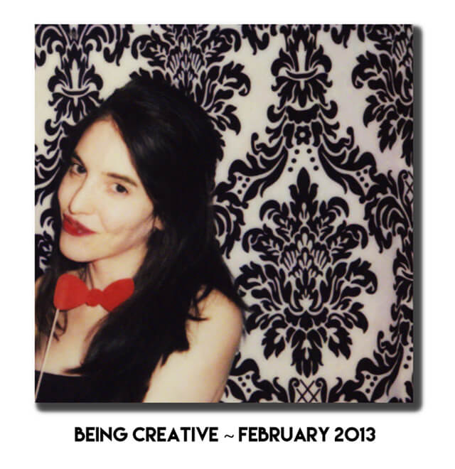 Jenny Lapan is photographed in a creative, artsy photo