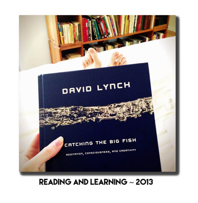 Jenny Lapan reads David Lynch's Catching the Big Fish