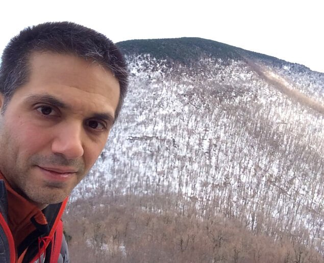 John Fallucca in the Catskill Mountains