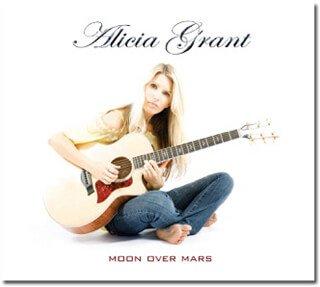 Cover of Alicia Grant's Moon Over Mars album