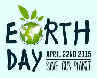 Banner for Earth Day 2015
