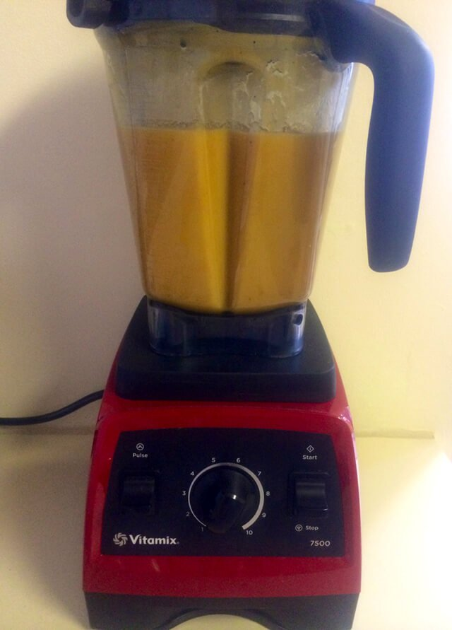 Recipe for Tropical Smoothie in blended form from John Fallucca