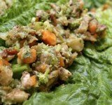 Recipe for Savoury Wraps from Kat Green
