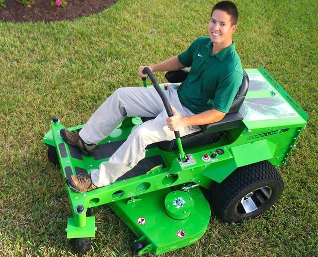 Mean Green CXR zero-turn lawnmower